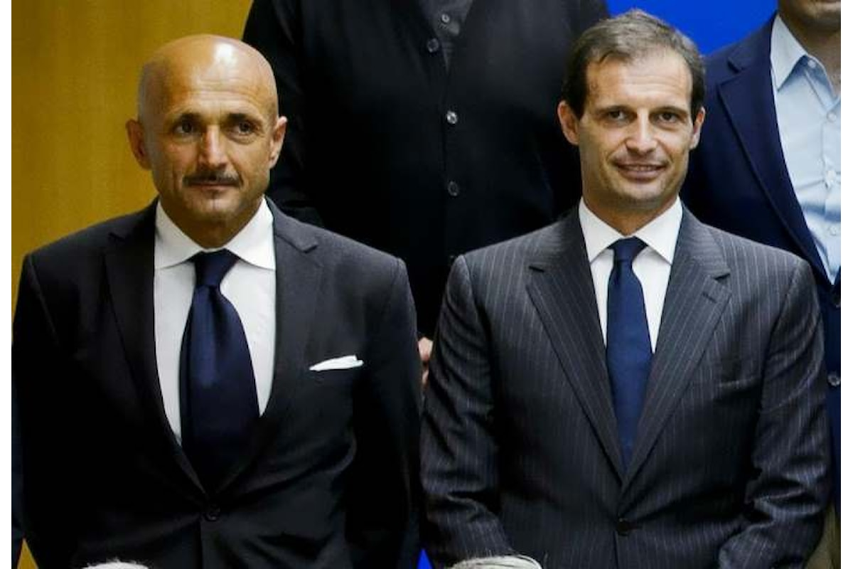 Inter-Juventus, le parole di Spalletti e quelle di Allegri