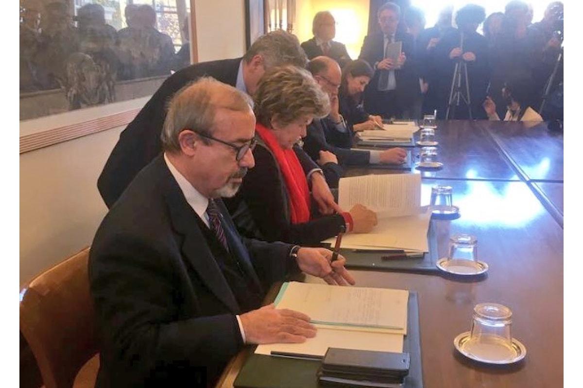 Firmato il patto della Fabbrica, nuovo modello per contratti e relazioni industriali concordato tra sindacati e Confindustria