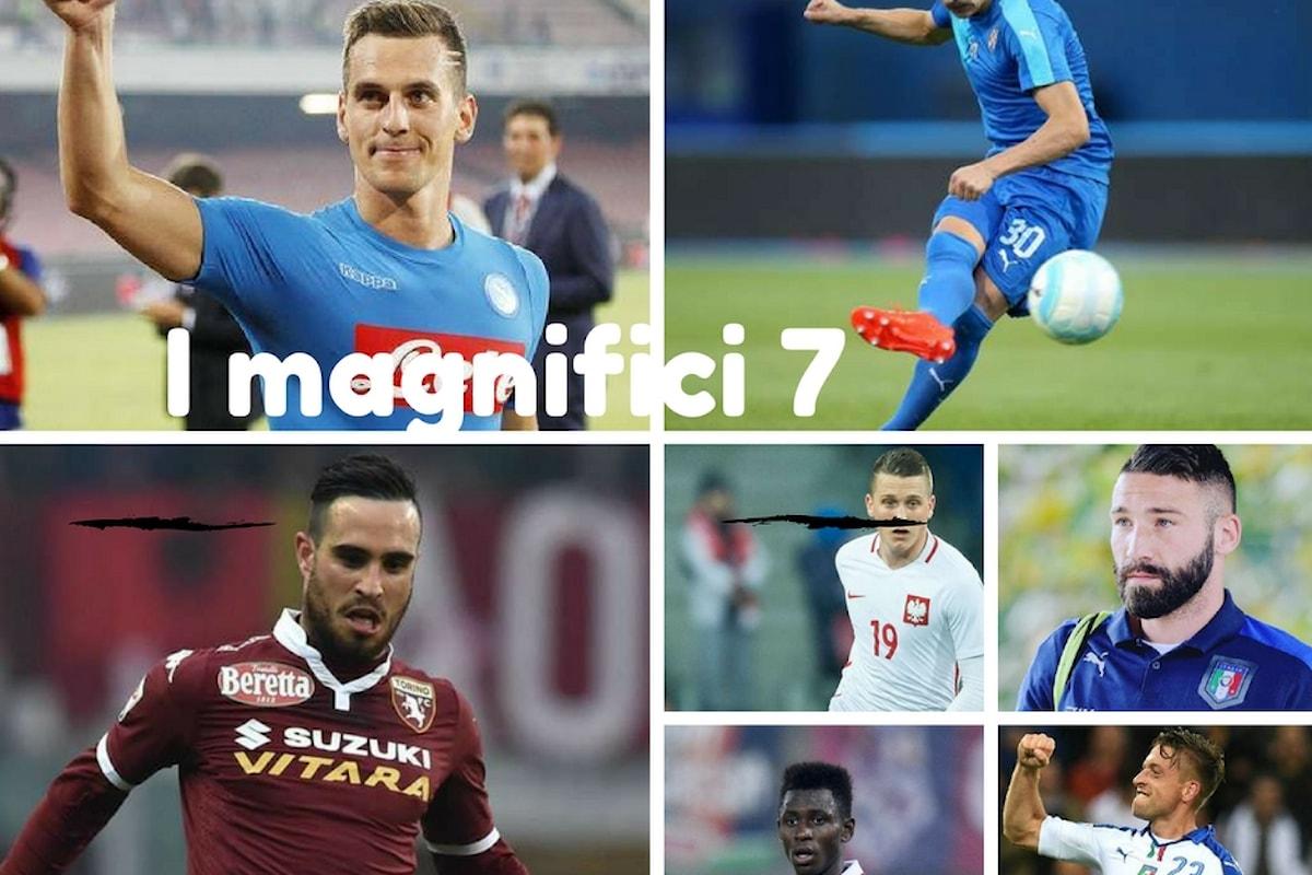 I magnifici 7 del Napoli
