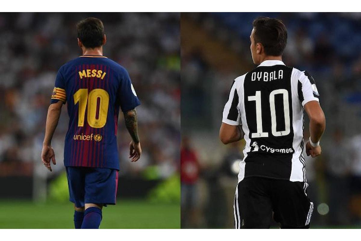 Probabili formazioni Barcellona-Juve Champions League: è sempre Dybala vs Messi, ma la Juve è in crisi