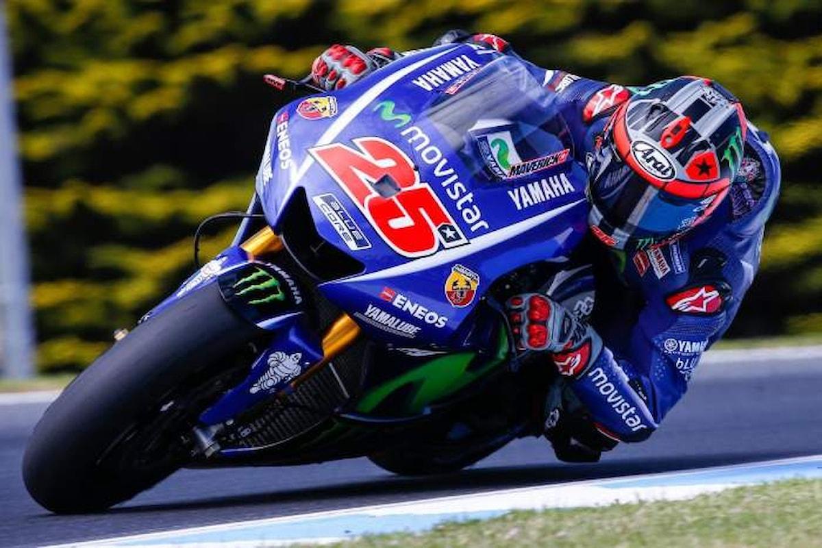 MotoGP, a Viñales la pole nel GP d'Aragona, ma è Valentino Rossi a fare l'impresa
