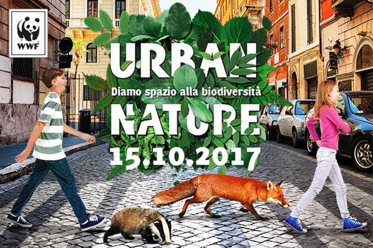 Urban Nature, il 15 ottobre il WWF promuove la biodiversità nelle città italiane