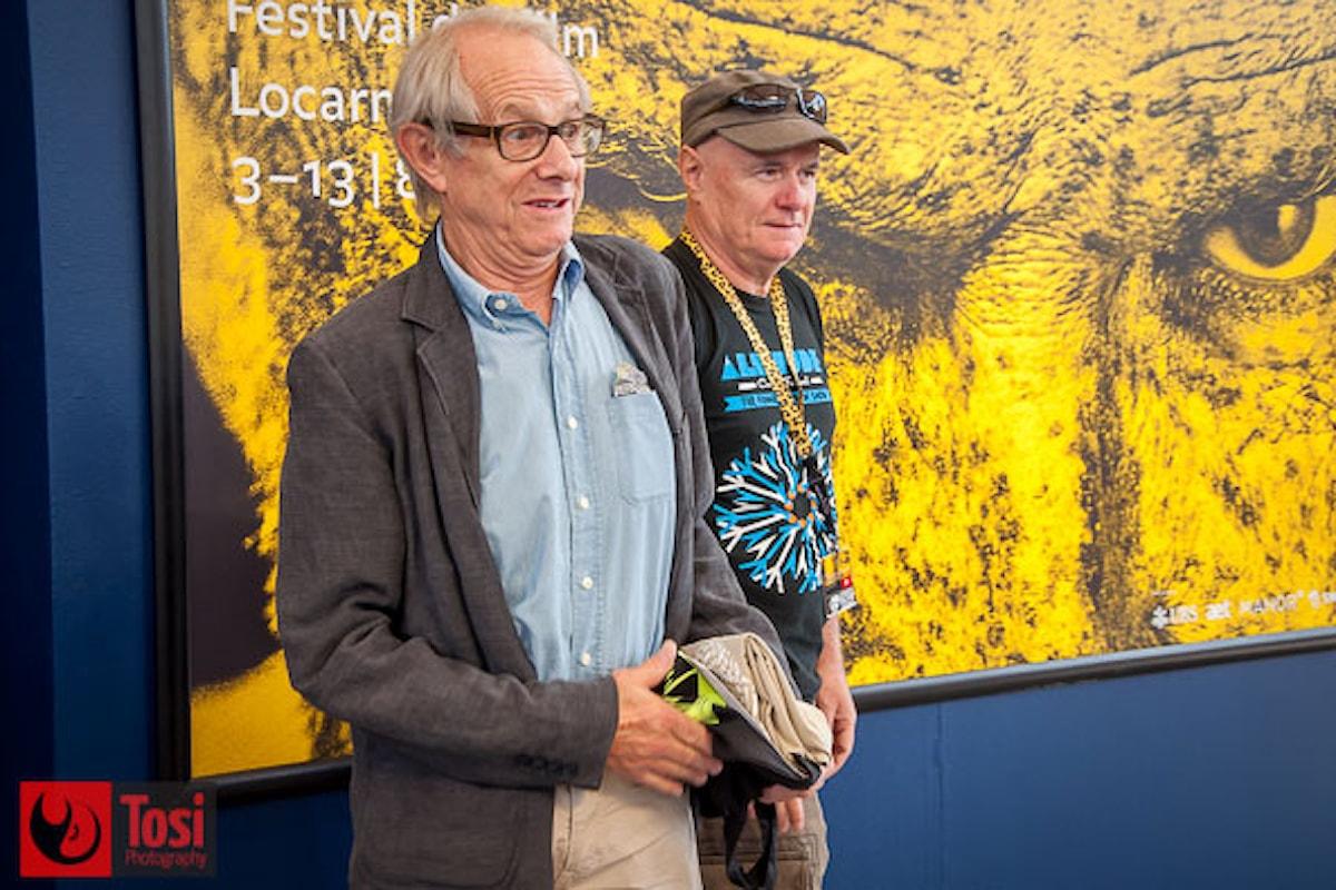 Il regista Ken Loach incontra il pubblico di Locarno 2016