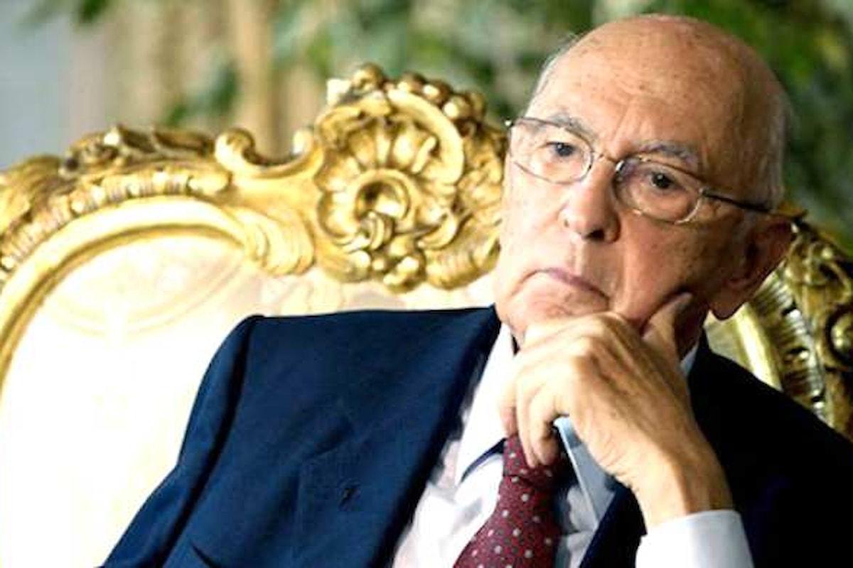 Napolitano a favore dell'astensione sul referendum delle trivelle