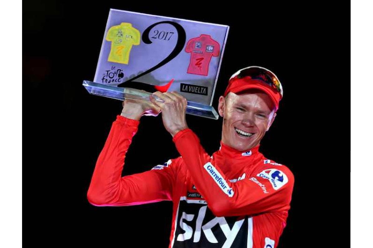 Chris Froome positivo al salbutamolo durante la Vuelta 2017