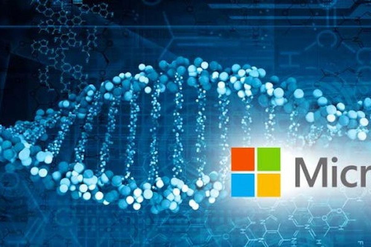 L'hardisk della Microsoft? il DNA