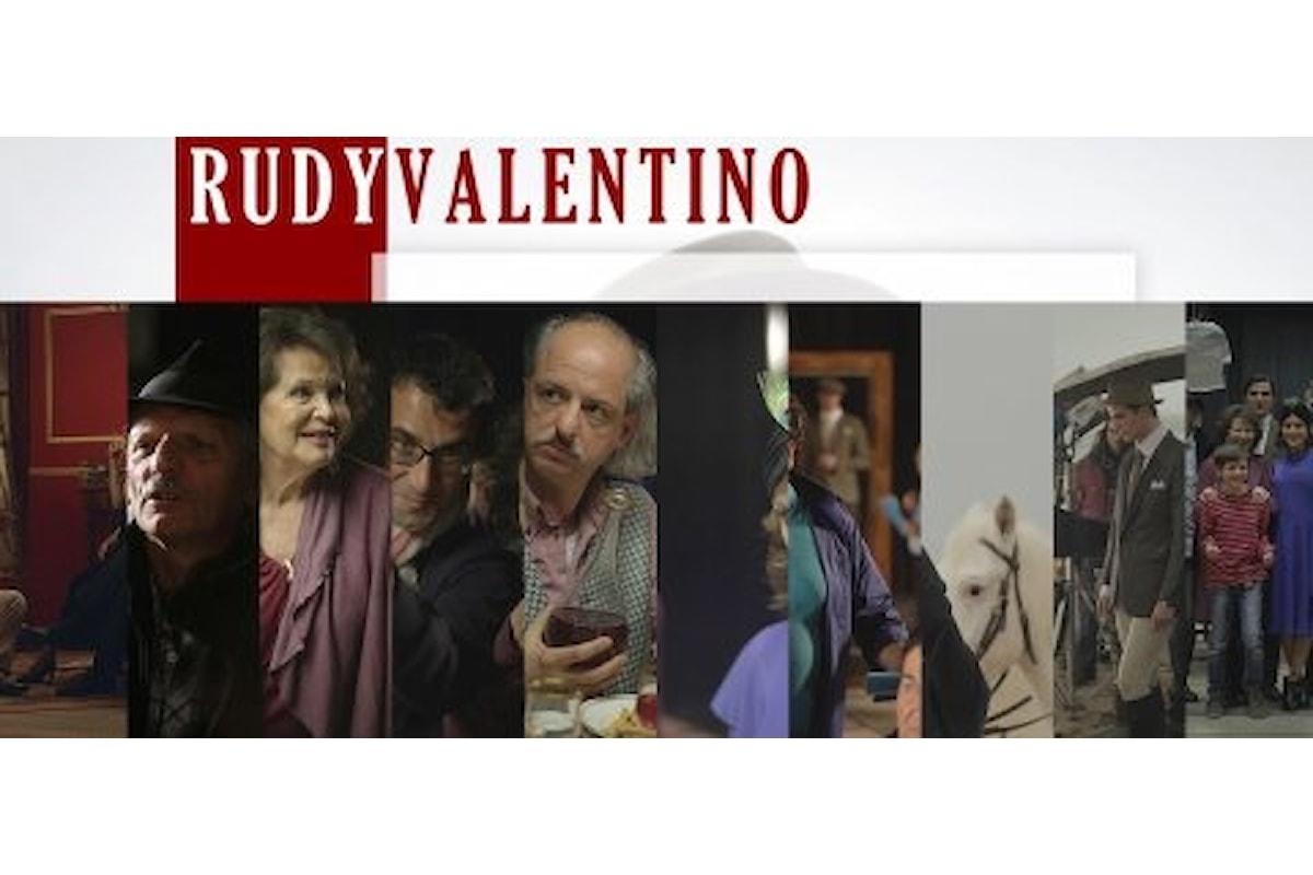 Nei cinema italiani Rudy Valentino di Nico Cirasola con Pietro Masotti, Tatiana Luter, Claudia Cardinale e Alessandro Haber
