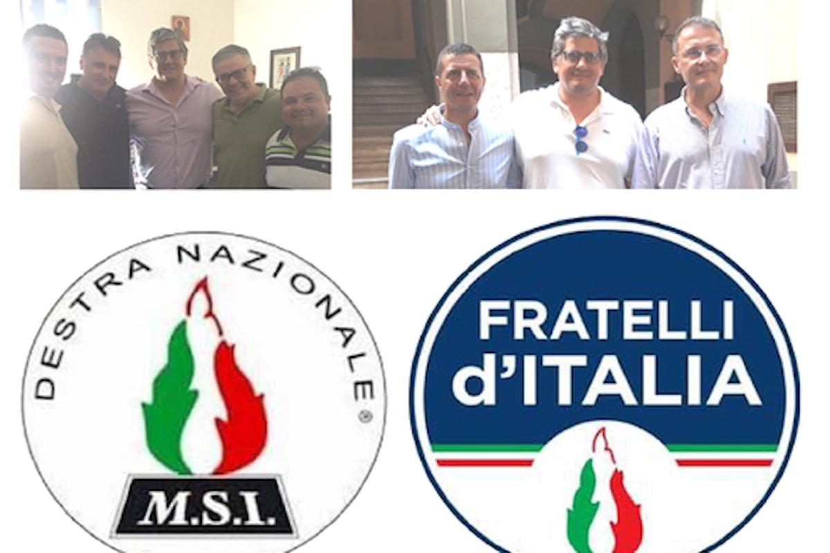 MSI-DN e FRATELLI D'ITALIA