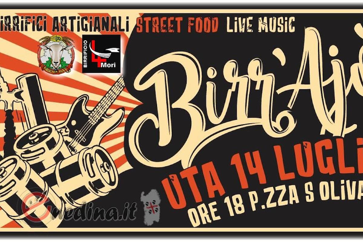 Birra artigianale, street food e musica: BirrAjò Street Beer Festival 2018 a Uta