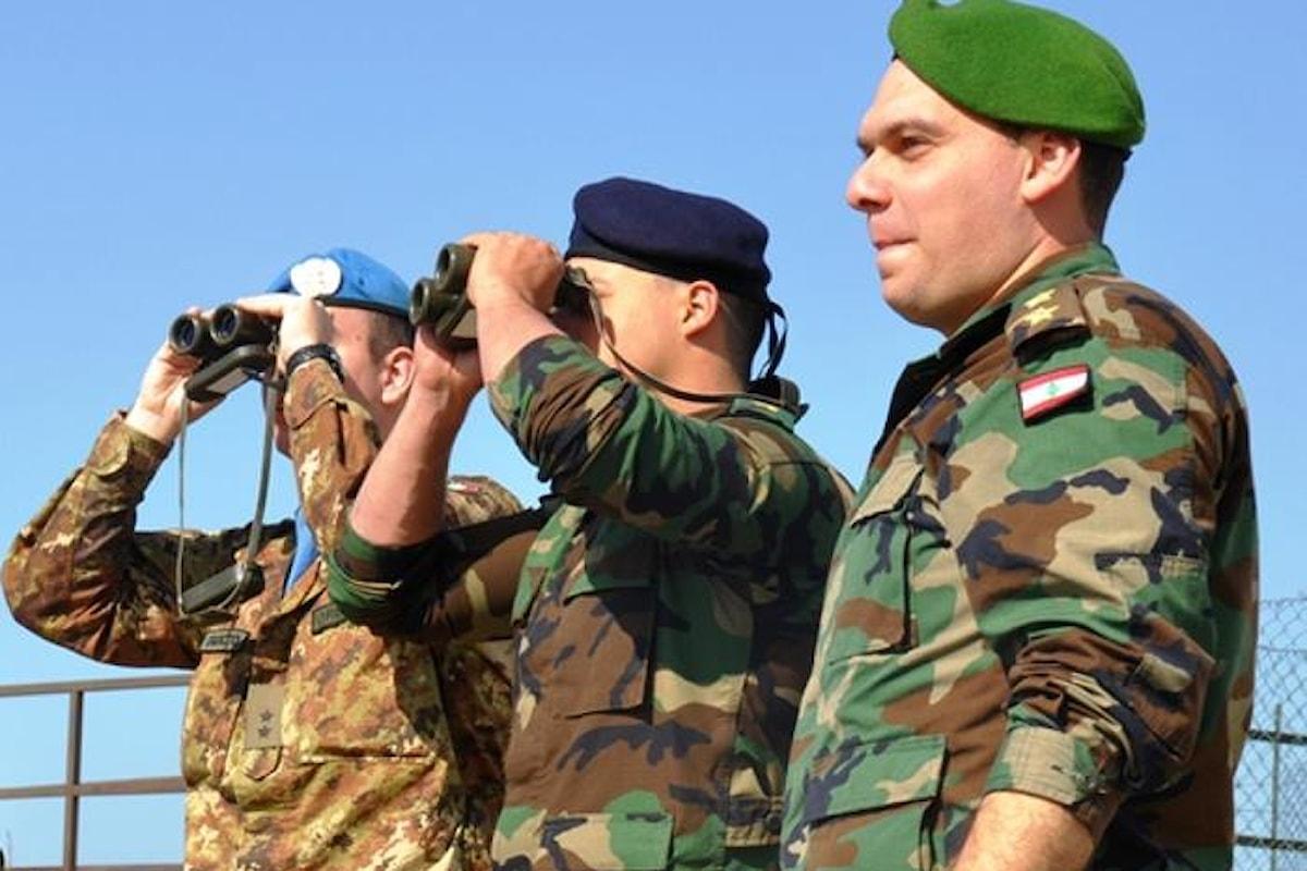 Libano, militari italiani organizzano corso su pubblica informazione per le Forze Armate Libanesi