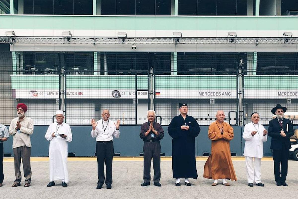 Singapore: cerimonia multireligiosa per la benedizione del Gran Premio di F1