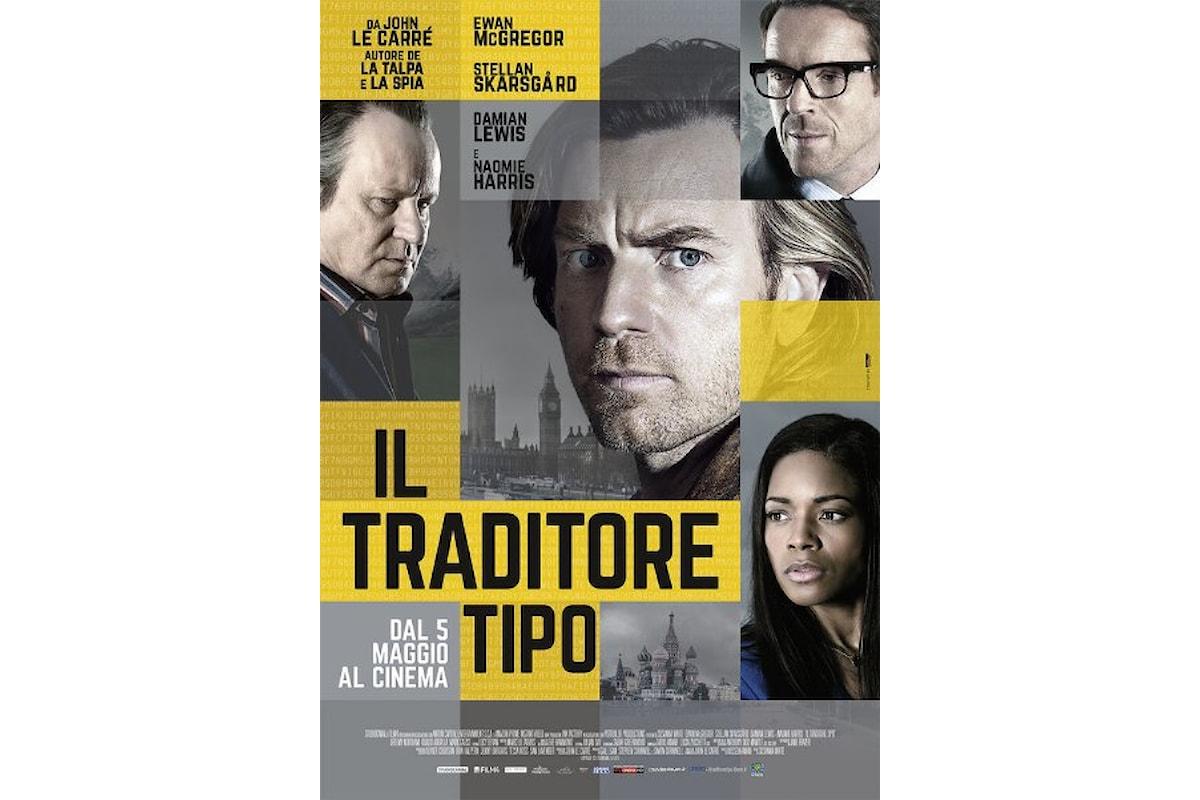 Da oggi al cinema un nuovo romanzo di John le Carrè: IL TRADITORE TIPO