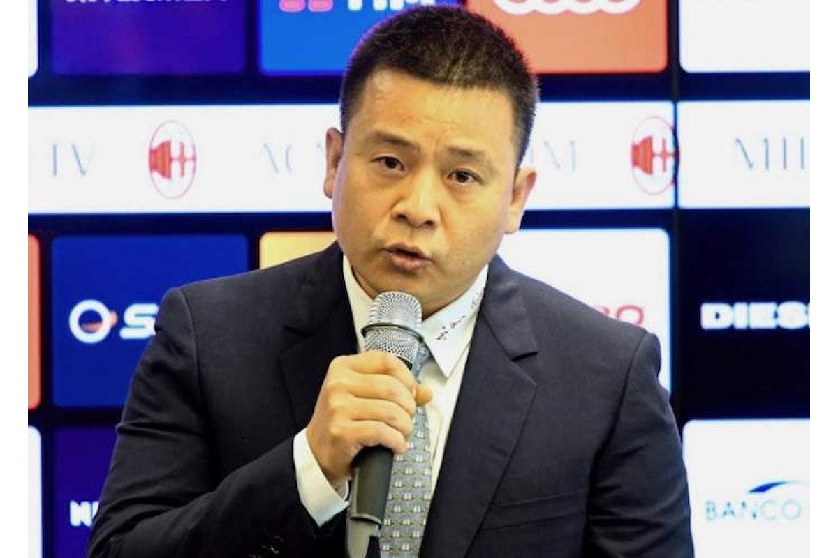 Il Milan non ha risposto all'articolo del Corriere sulla solvibilità del suo proprietario, Yonghong Li