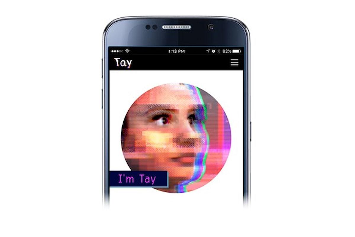 Microsoft cancella il chatbot Tay per risposte inopportune