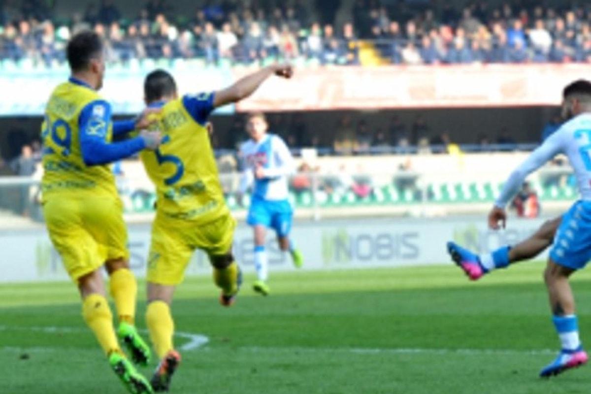 SERIE A. Il Napoli vince a Verona 3-1 grazie ad un grande Insigne