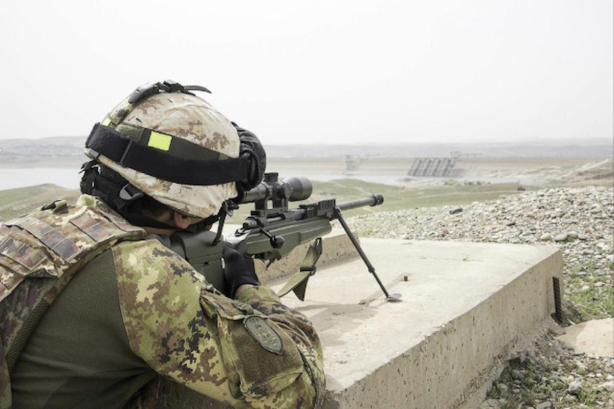Iraq, militari della Brigata Sassari garantiscono la sicurezza dei geologi USACE presso la diga di Mosul