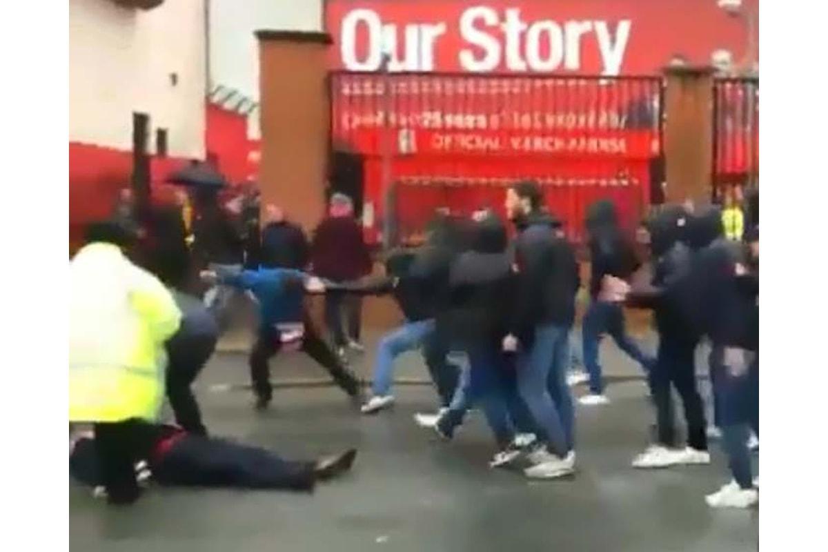 Scontri Liverpool-Roma: ecco cosa rischia la società giallorossa