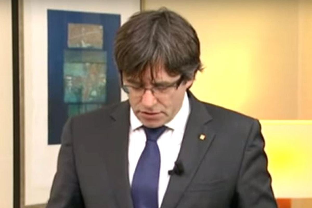In carcere a Madrid Junqueras e gli altri consiglieri dell'ex Governo catalano