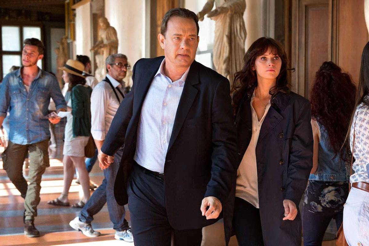 Torna il professor Langdon interpretato da Tom Hanks: il primo trailer di Inferno