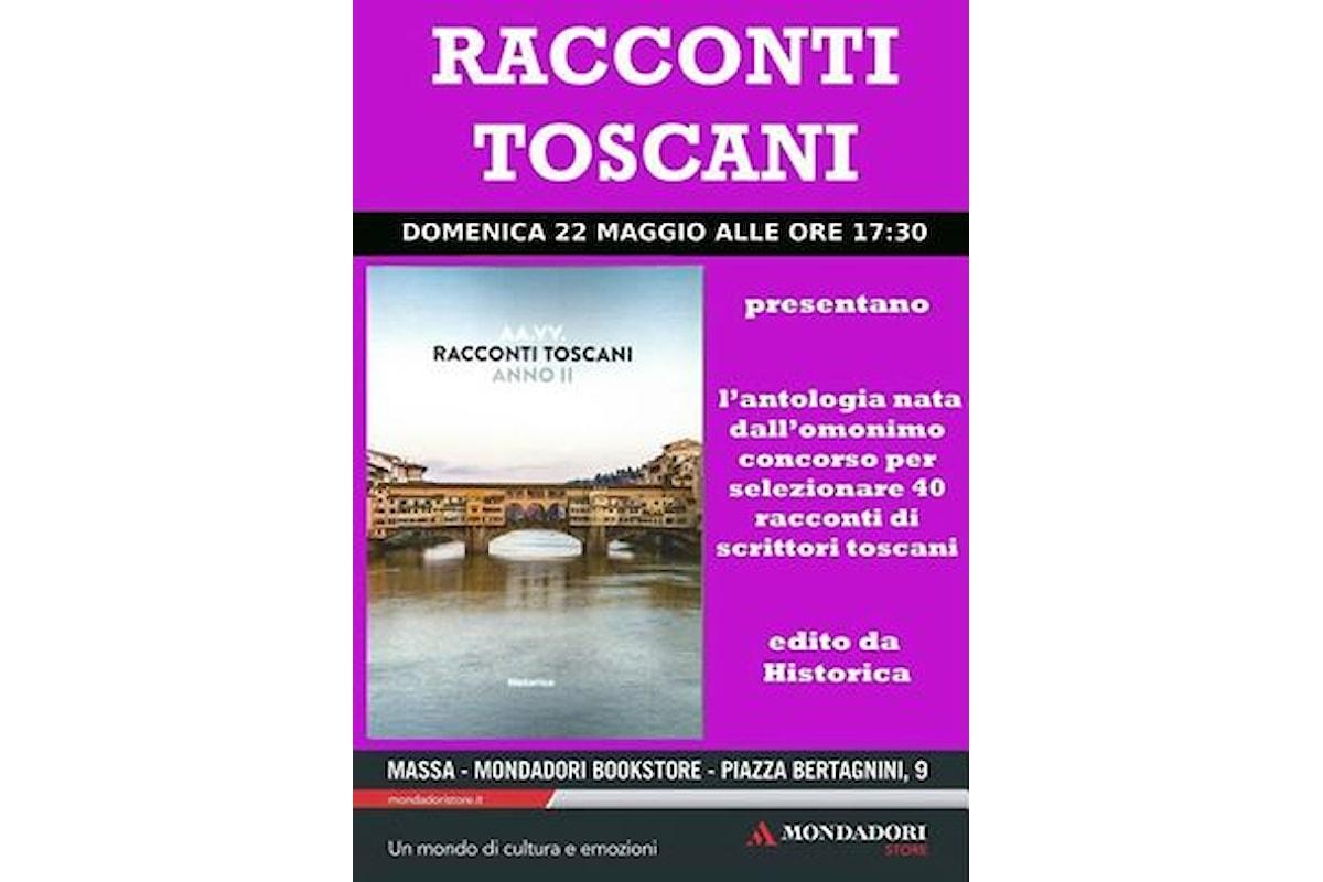 Presentazione Racconti Toscani a libreria Mondadori Massa