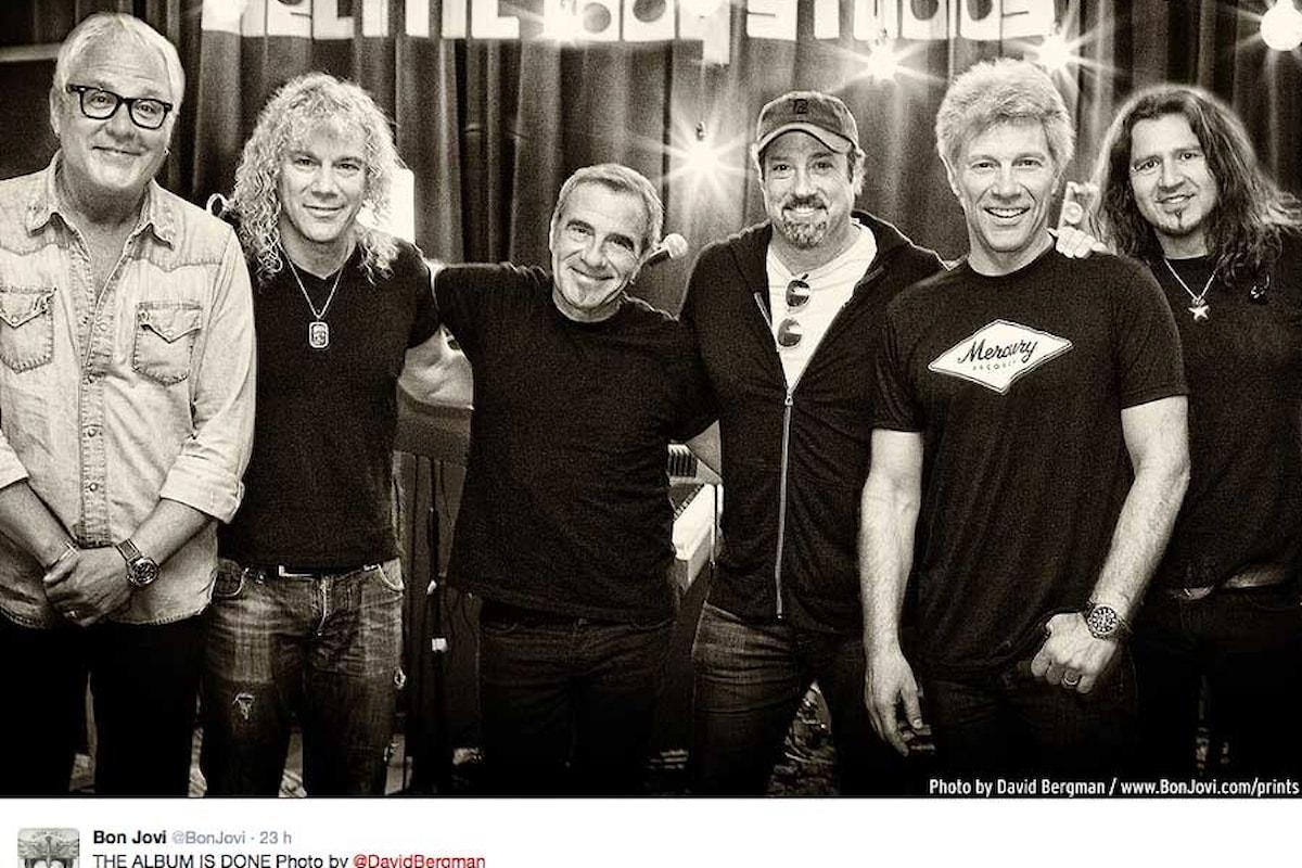 Il nuovo album dei Bon Jovi è ultimato
