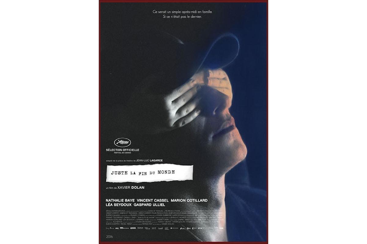 Recensione del film Juste la Fin du Monde di Xavier Dolan vincitore del Grand Prix a Cannes 2016