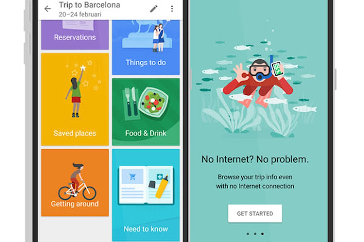 Google Trip, sul Play Store in arrivo l'app per i viaggi
