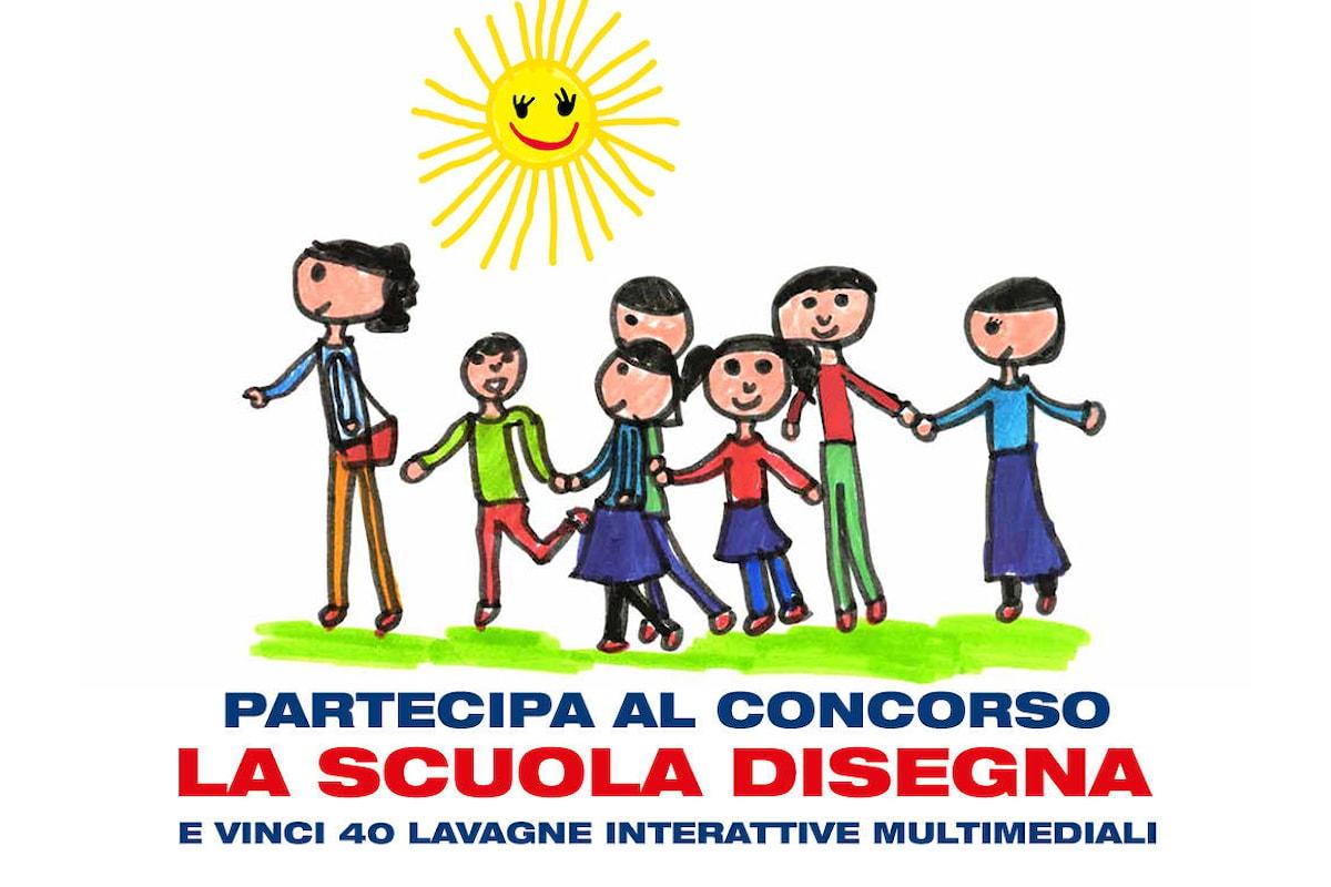 Vinci 40 lavagne interattive multimediali con il concorso La scuola disegna di Esselunga