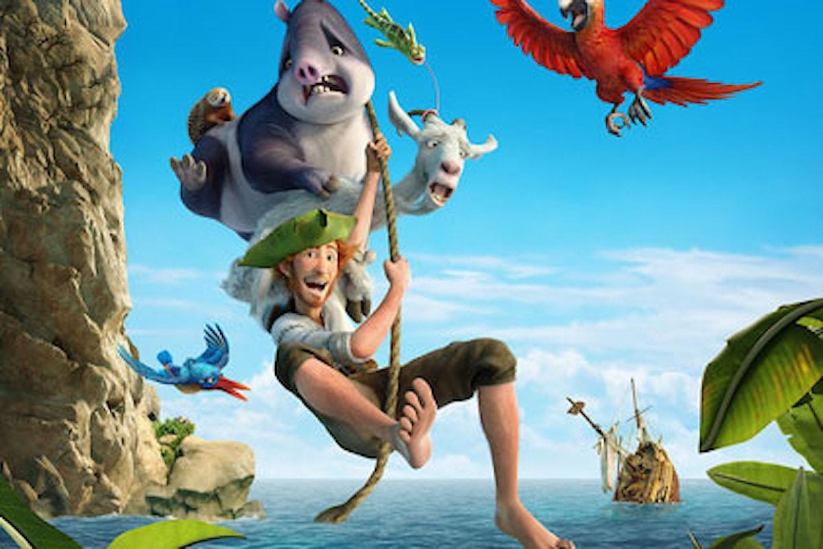 Recensione del film di animazione Robinson Crusoe: la storia, secondo Martedì