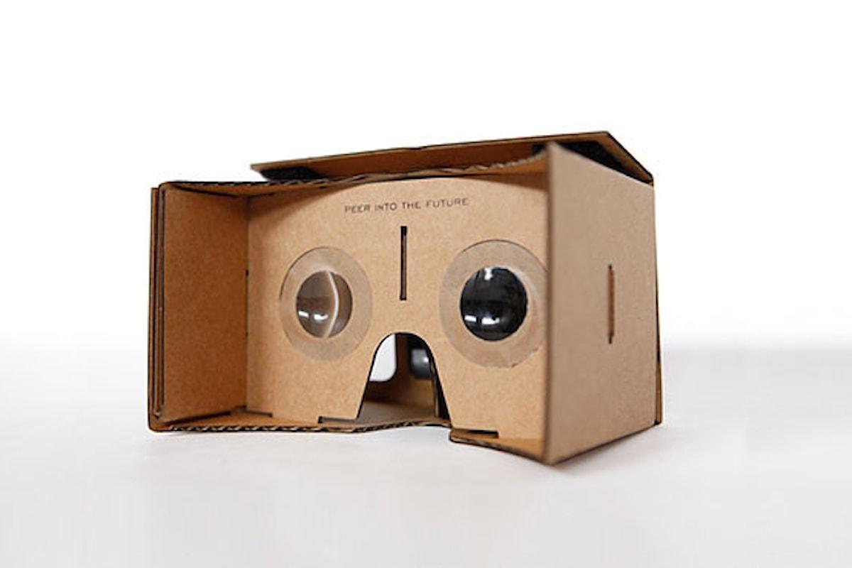 Realtà virtuale: nuovo visore da Google