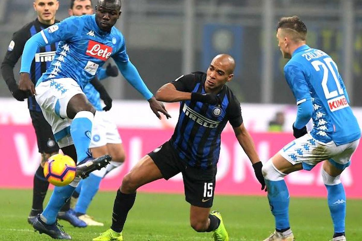 Dopo Inter-Napoli, il giudice sportivo chiude lo stadio Meazza per due turni