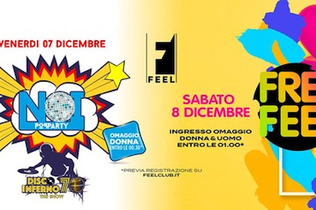 Feel Club: tutte le feste dal 7 al 31 dicembre