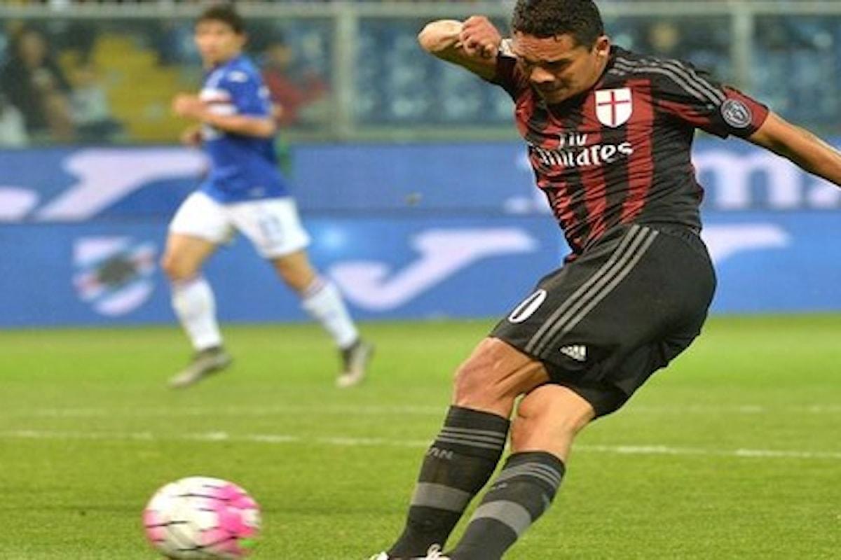 Probabili formazioni e statistiche su Sampdoria-Milan di stasera