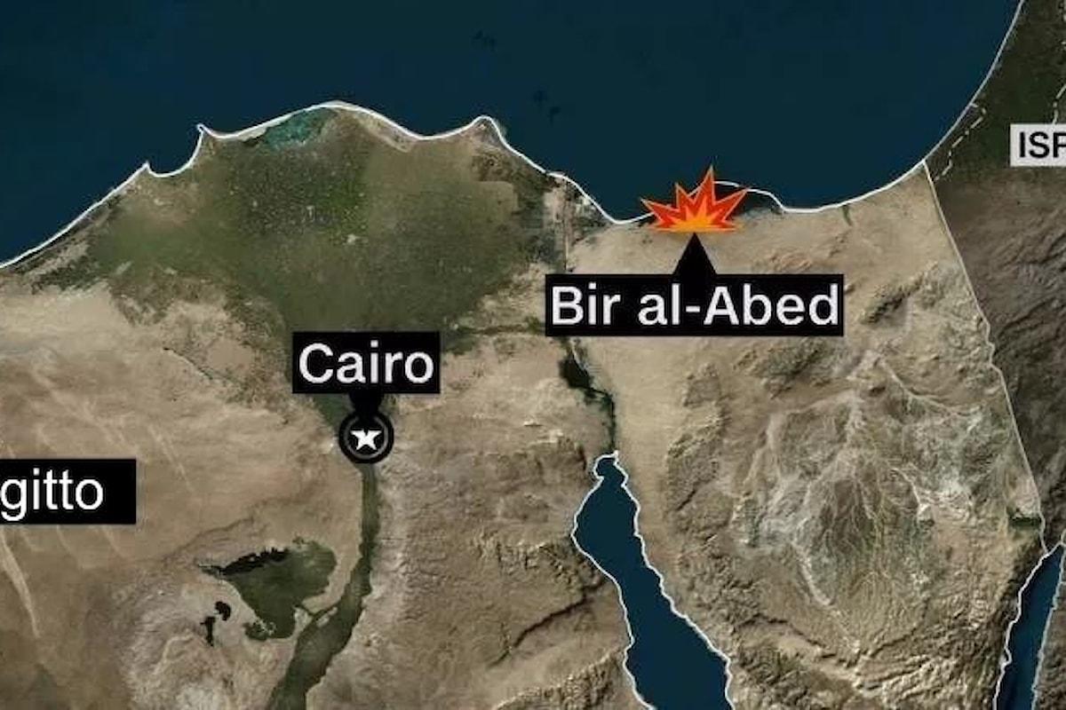 235 morti e 109 feriti il bilancio di un attentato in una moschea di Bir al-Abed nel nord del Sinai