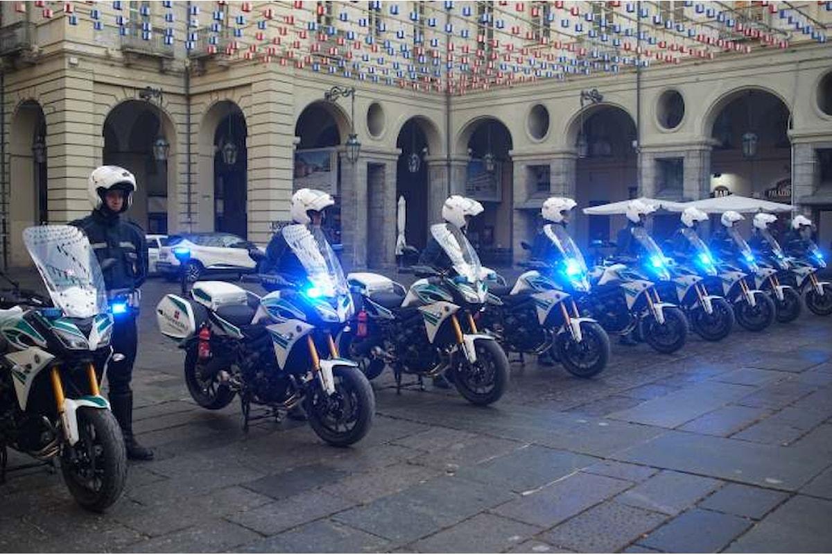Sarà la Tracer 900 di Yamaha la nuova moto della Polizia Municipale di Torino