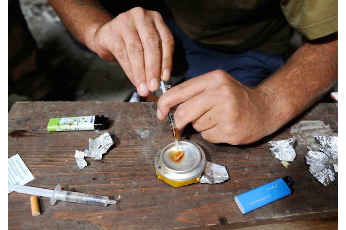 Relazione sullo stato delle tossicodipendenze in Italia, oltre il 10% degli italiani fa uso di droghe