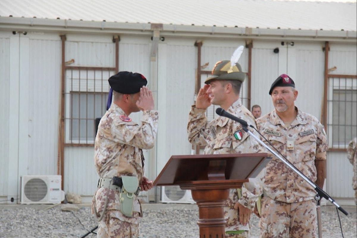 Iraq, il 3° Reggimento Alpini di Pinerolo è al comando della Task Force Praesidium