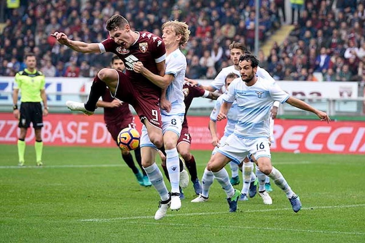 Lazio-Torino: probabili formazioni! Calcio d'inizio alle 20.45
