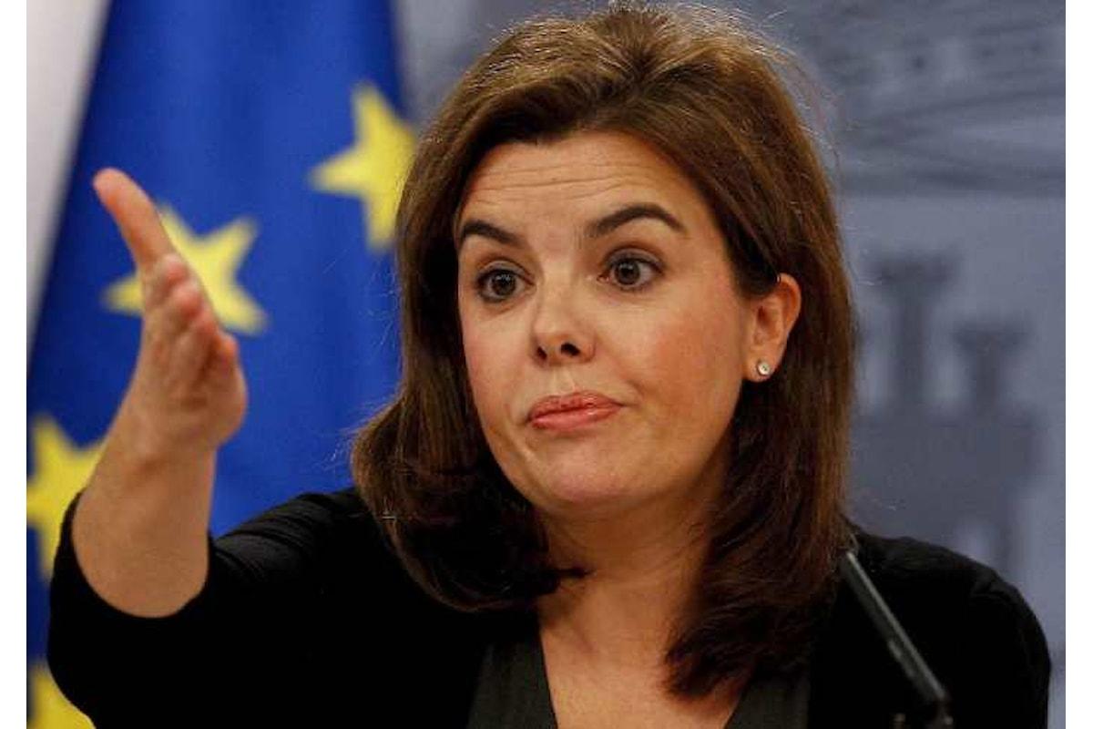 Madrid, nuovo ultimatum per giovedì per conoscere se la Catalogna sia stata o meno dichiarata indipendente