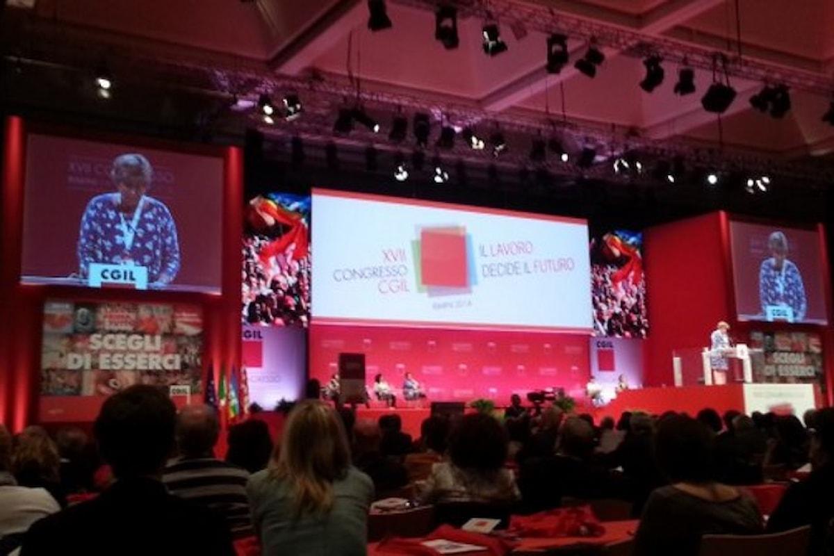 Dal 22 al 25 gennaio 2019 a Bari il XVIII congresso della Cgil