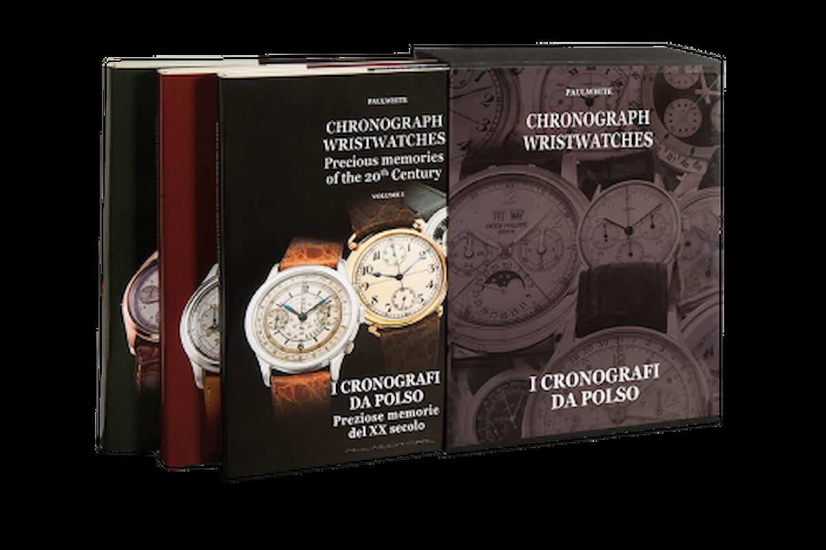 Tre volumi con oltre 900 pagine per conoscere tutti i cronografi da polso.