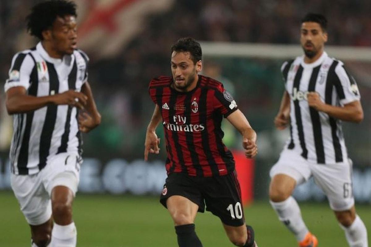 Serie A, 12.esima giornata: record d'incasso di 4,9 milioni per Milan-Juventus