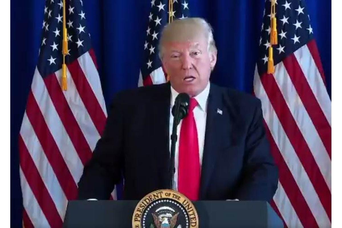 Le ultime dichiarazioni di Trump sugli scontri a Charlottesville e contro Amazon