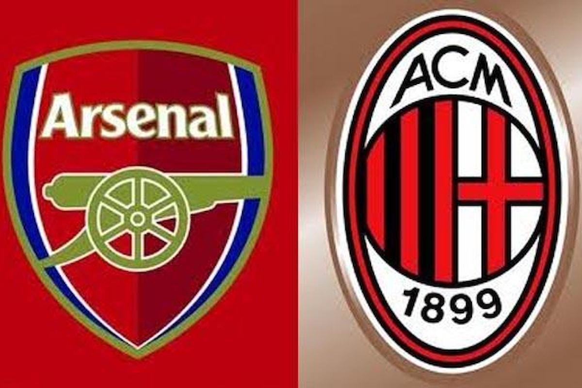 Milan formato Arsenal dopo il closing. Ecco perché
