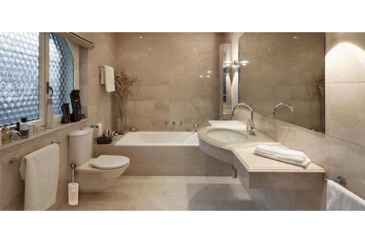 Un bagno pulito e igienizzato al 100% con l'idroscopino Wizzo
