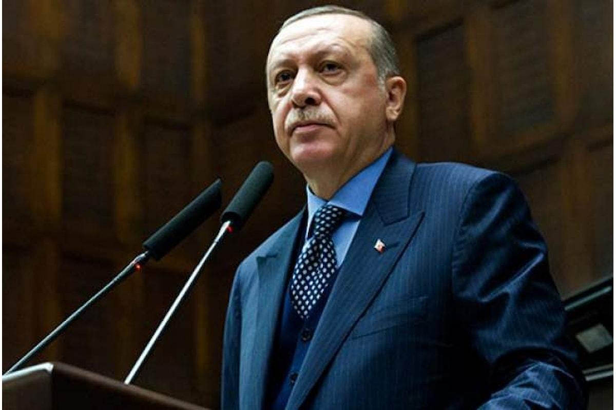 Erdogan dichiara di aver fermato l'ingresso delle forze siriane ad Afrin chiedendo l'intervento di Putin