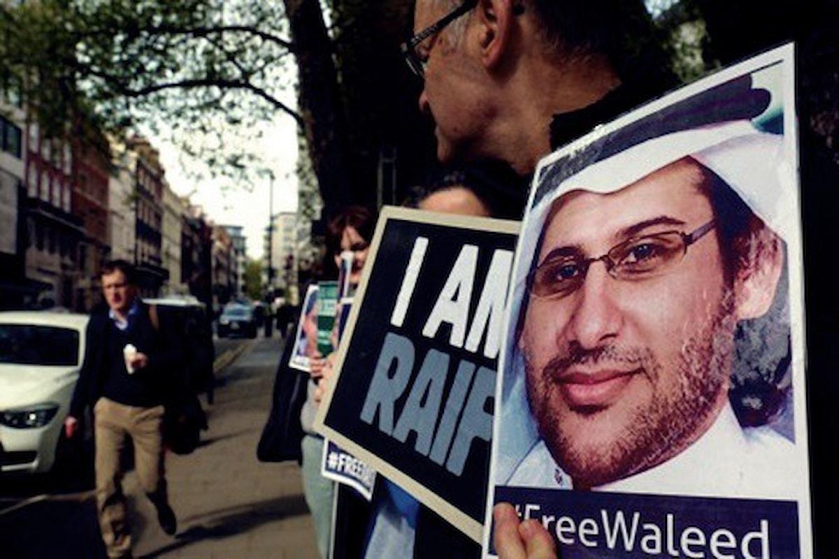 Un attivista saudita, ancora detenuto, insignito dell'Human Rights Award 2016