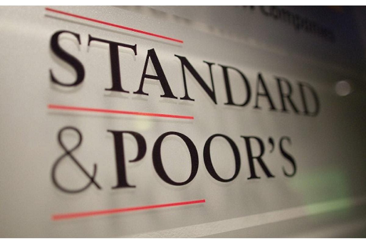 Standard & Poor's non abbassa il rating dell'Italia ma boccia la legge di bilancio 2019 voluta da Di Maio e Salvini