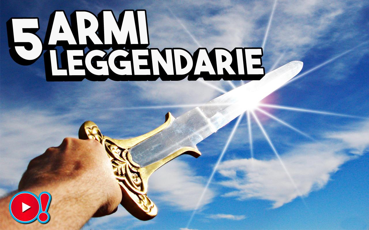 5 Armi Leggendarie (dalla mitologia Hindu fino all'antica Sicilia)
