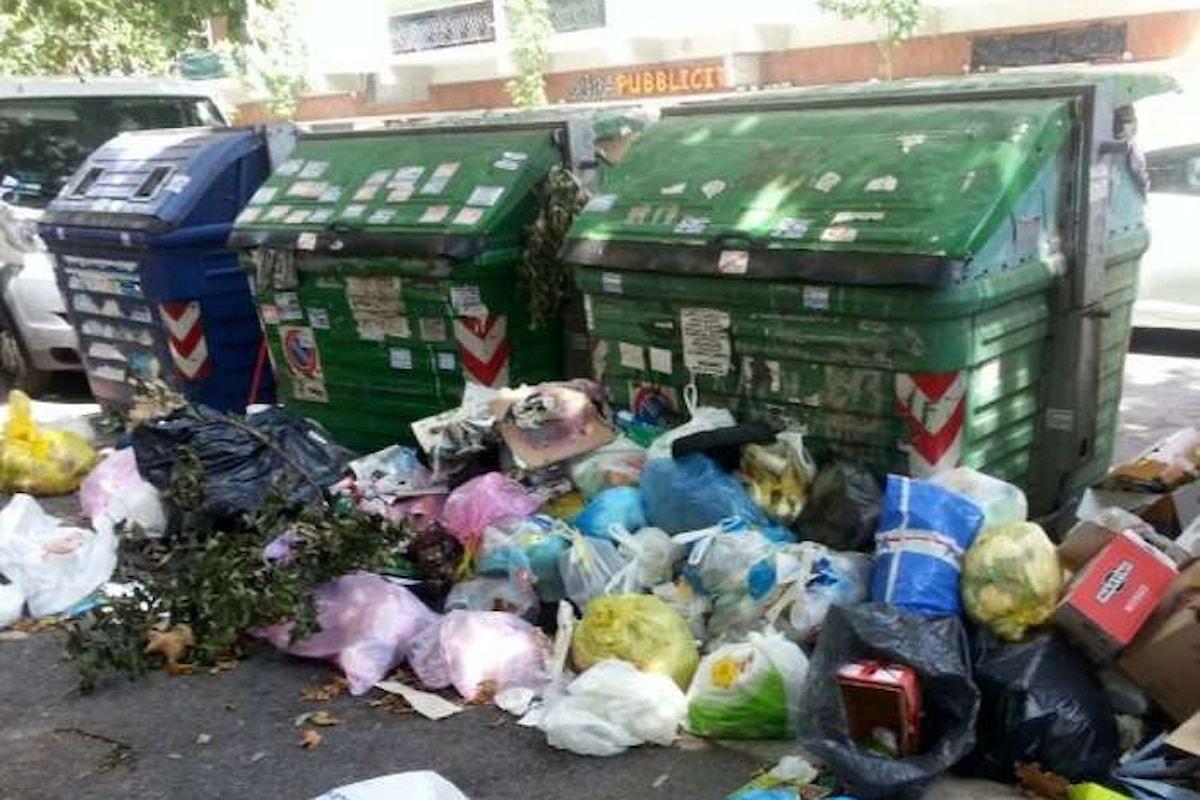 Raggi contro Zingaretti... e viceversa. La spazzatura di Roma è colpa di...